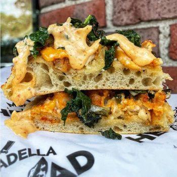 mortadella head italian food